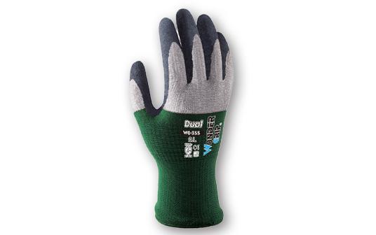 天然ゴムコーティング手袋